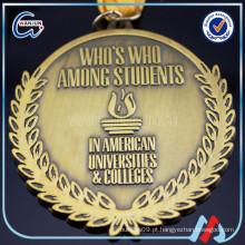 Medalha de prêmio de xadrez comemorativa