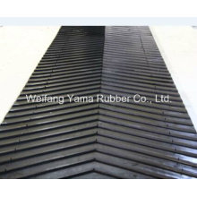 Rubber Conveyor Belt with Chevron Required Baded on Clients′ Requirement
