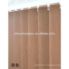 Rideaux verticaux en bambou pliants