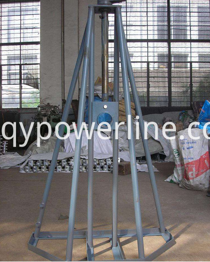 Frame Type Cable Drum Elevator