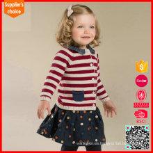 Las últimas muchachas de la manera de las mangas largas calientan el suéter al por mayor de la cachemira de las lanas