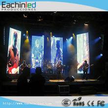 La pantalla llevada interior de P6 de la pantalla LED del fondo de la etapa llevó la pantalla grande