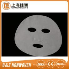 Máscaras faciales de seda no tejidas de la máscara facial de la tela de Cupro