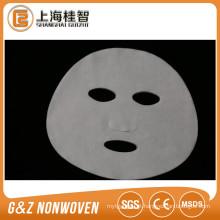 Cupro tecido facial máscara folha não tecido seda máscara facial fornecimento