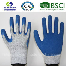 Cut Resistant Safety Work Glove with Latex Coated