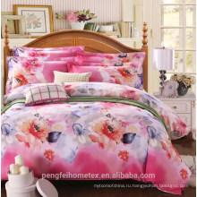 100% полиэстер микрофибра домашний текстиль ткани на продажу