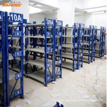 Pulverbeschichtete mittlere Lagerregale für Ersatzteile