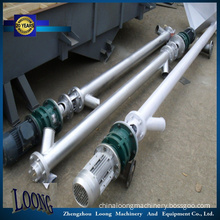 Screw Conveyor Lsy-219, Inclined Screw Feeder Without Hopper, Auger Feeder,