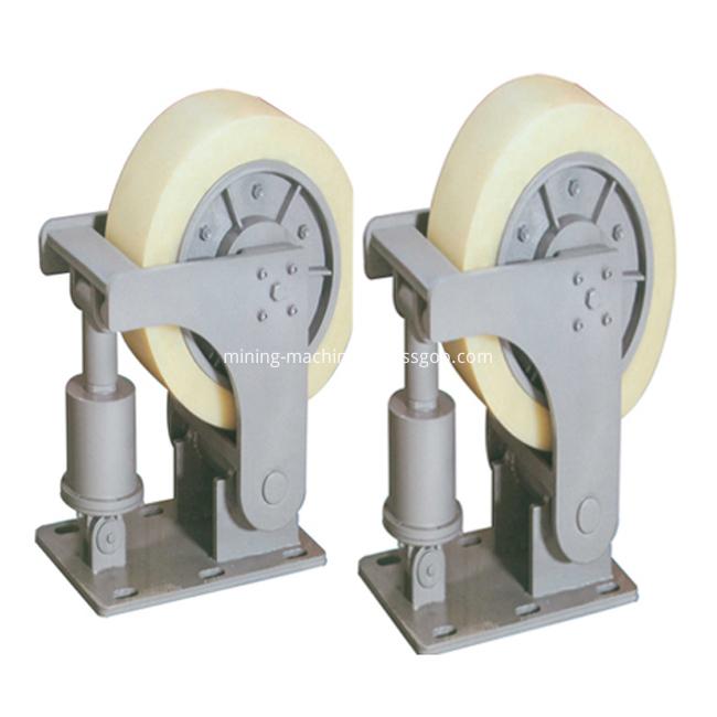 mine cage buffer wheel bracket (48)