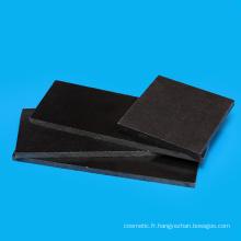 Feuille d'acétal en plastique blanc et noir promotionnel