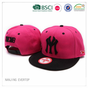 Cheap Pink NY Flat Bill Cap