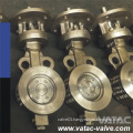 High Performance Stainless Steel CF8&Ss304 ANSI 150# Wafer Butterfly Valve