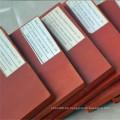 Fabrik Preis 10mm Red SBR Gummiblatt Gummi Pad