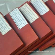 Preço de fábrica 10mm Vermelho SBR Borracha Almofada De Borracha De Folha