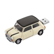 Mini palillo de memoria USB de encargo del juguete del coche del logotipo