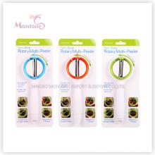 fruit multifonctionnel d'ABS d'acier inoxydable de cuisine / éplucheur végétarien (19.5 * 7.5 * 3.5cm