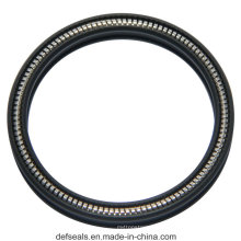 Flanged Heel Groove Teflon Spring Energized Sealing