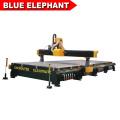 BLUE ELEPHANT Nueva gran talla de madera cnc máquina 3000 * 7600 con multifunción