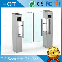 ODM for Supermarket Swing Barrier Gate Fingerprint Card Turnstile Access Swing Barrier Gate export to United States Importers