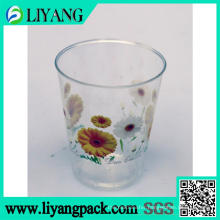 Cute Chrysanthemum Design, Heat Transfer Film for Palstic Cup