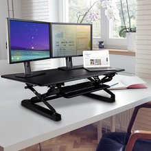 "Loctek Verstellbarer Standfuß - 47 ""Wide Platform Stand up Desk Riser, Sit-Stand Workstation (MT101L)"