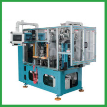 Compression motor automatic stator coil tying machine