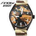 Qualität Quarz Armee grüne Sport Männer Japan movt Uhren