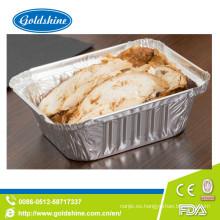 Bandeja de aluminio desechable SGS Healthy Food Grade