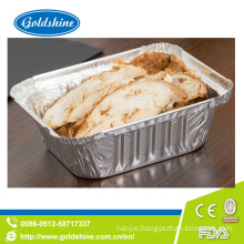 SGS Healthy Food Grade Disposable Aluminum Tray