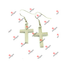 New Alloy Cross Design Women Earrings for Christmas Gifts (CWE51031)