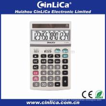Usando calculadora científica calculadora de custos de função com grande solar JS-130TS
