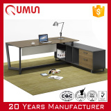 2016 New Design Qumun Modern Executive Desk Durable Manager Table Office Furniture Manufacturer