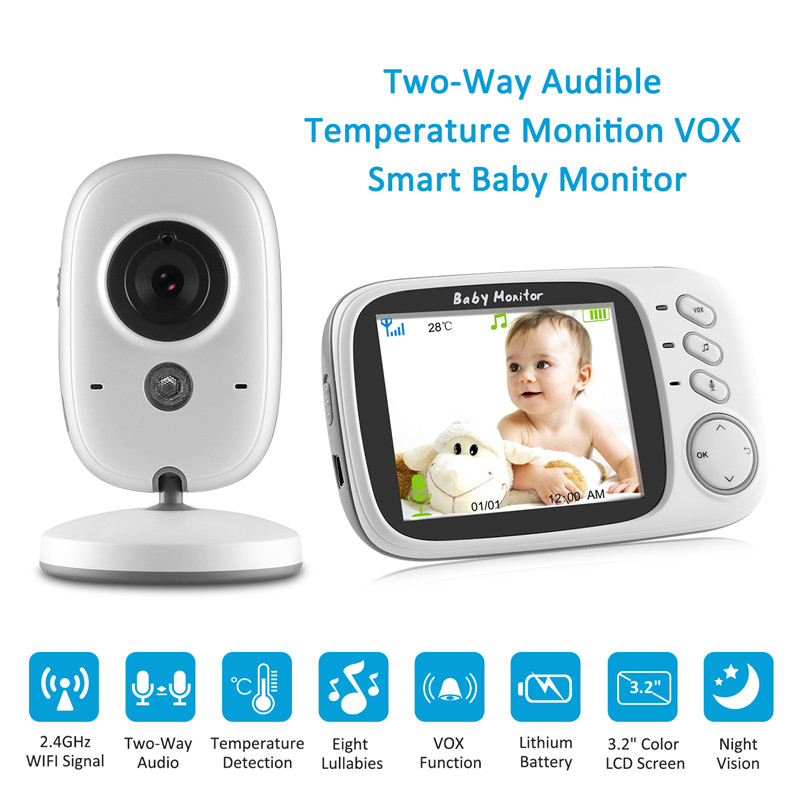 Digital Wireless Video Baby Monitor