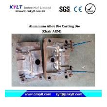 Molde de fundición de aluminio del brazo de la silla del lazo para los EEUU