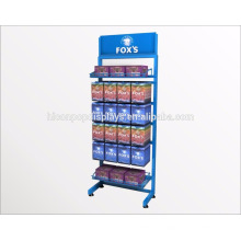 Farmácia Shop Display Fabricante Independente 6-Layer Metal Shelving Pharmacy Fixtures For Sale