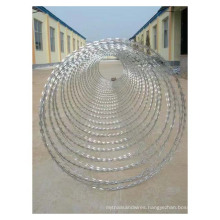 snake-belt galvanized anti-theft barbed wire Barbed iron wire mesh