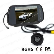 7-дюймовая система зеркального заднего вида с автомобильной мини-бамперной камерой