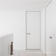 Puerta invisible de alta calidad con múltiples puntos de apertura, cerraduras, puerta invisible