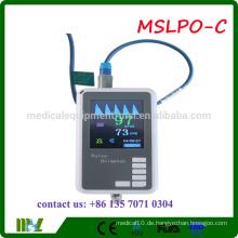 MSLPO-C 2016 Günstige Handheld-Patienten Pulsoximeter Fingerspitze Pulsoximeter