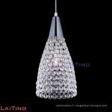 Lustre en cristal contemporain pas cher moderne lustre fantaisie lustre
