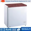 Single Solid Door Deep Chest Display Freezer 300L with Lock & Key
