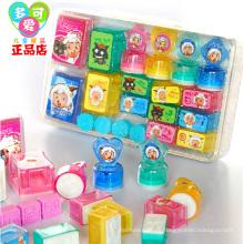 Großhandelskinderspielzeug-Griff-Plastikstempel für Verkauf