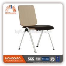 Cadeira da escola fixa do assento do plutônio do base do metal do cromo de CV-B191BS com quanlity alto