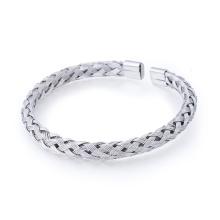 Populaire simple bracelet en acier inoxydable Bracelet hommes en acier manchette Populaire simple bracelet en acier inoxydable Bracelet hommes en acier manchette