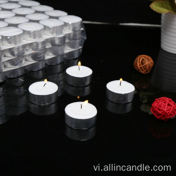 White Prealing Mini Tealight Nến