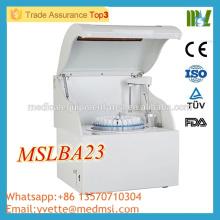 MSLBA23M Hochwertiger vollautomatischer Biochemie-Analysator Voller automatischer biochemischer Analysator