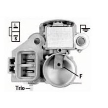 Regulator napięcia IM217HD Alterntor Nissan, Dodge Stealth, 21513125 UCJ235 940038088 TA500C0041 A866X05272 A866X09071