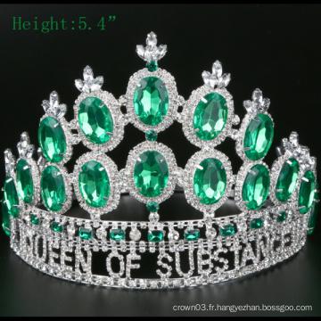 Courroies Crystal Crown Tiara à haute qualité