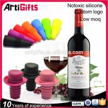 Bouchon de bouteille de vin en caoutchouc de silicone en gros Promotion