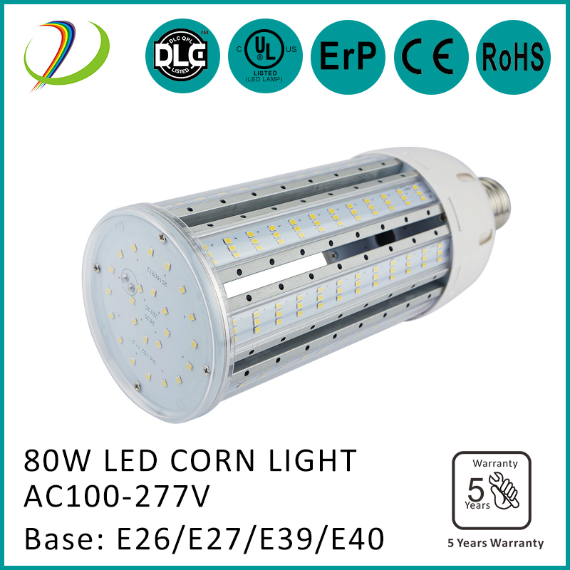E27/E40 base 80w-150w led corn light